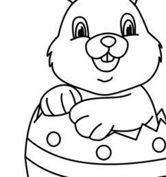 clipart resolution 1024 1024 easterrabbit black and white clipart easter bunny lent easter clip art clip art [ 900 x 900 Pixel ]