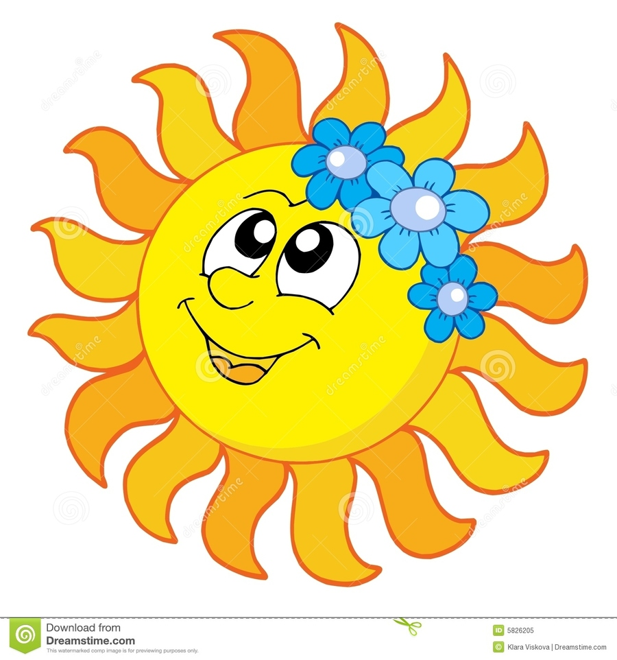 hight resolution of smiling sun clipart clip art