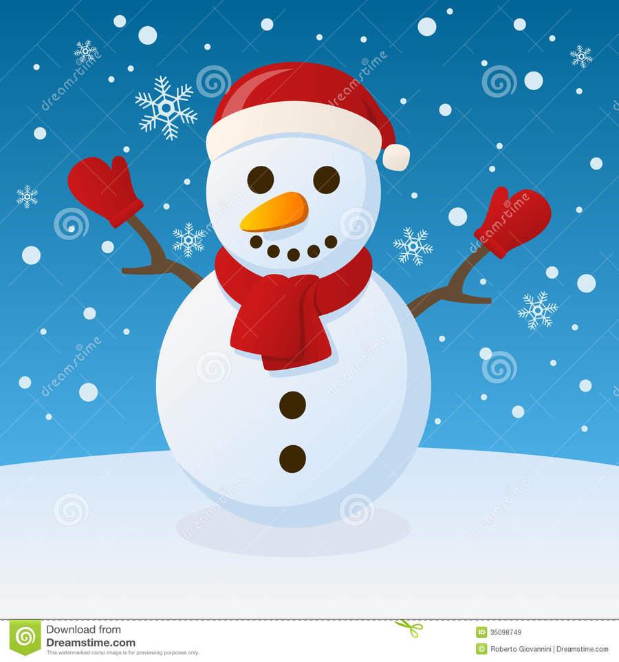 hight resolution of snowman