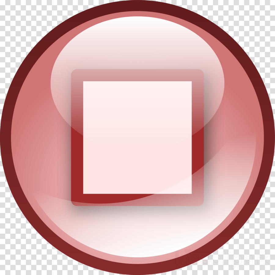 hight resolution of stop button clipart clip art