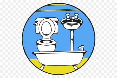 Bathroom Cartoon clipart Font Graphics Product transparent clip art