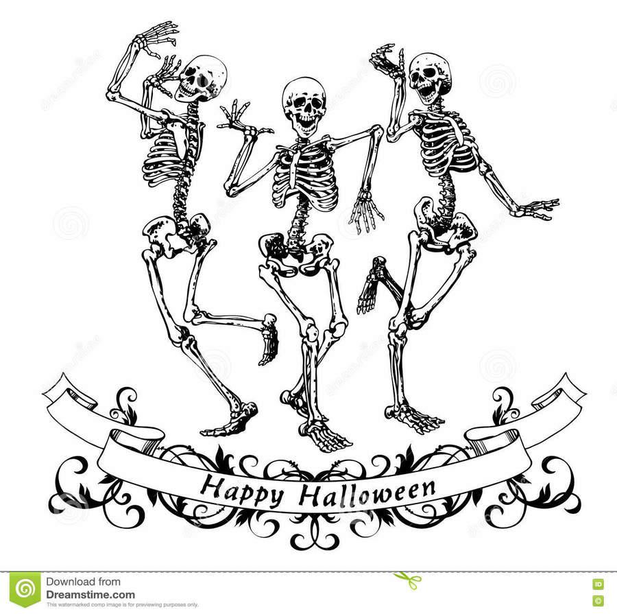 hight resolution of dancing skeleton clipart skeleton
