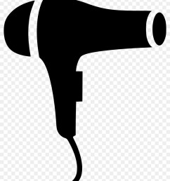 hair dryer icon black png clipart hair dryers computer icons [ 900 x 980 Pixel ]