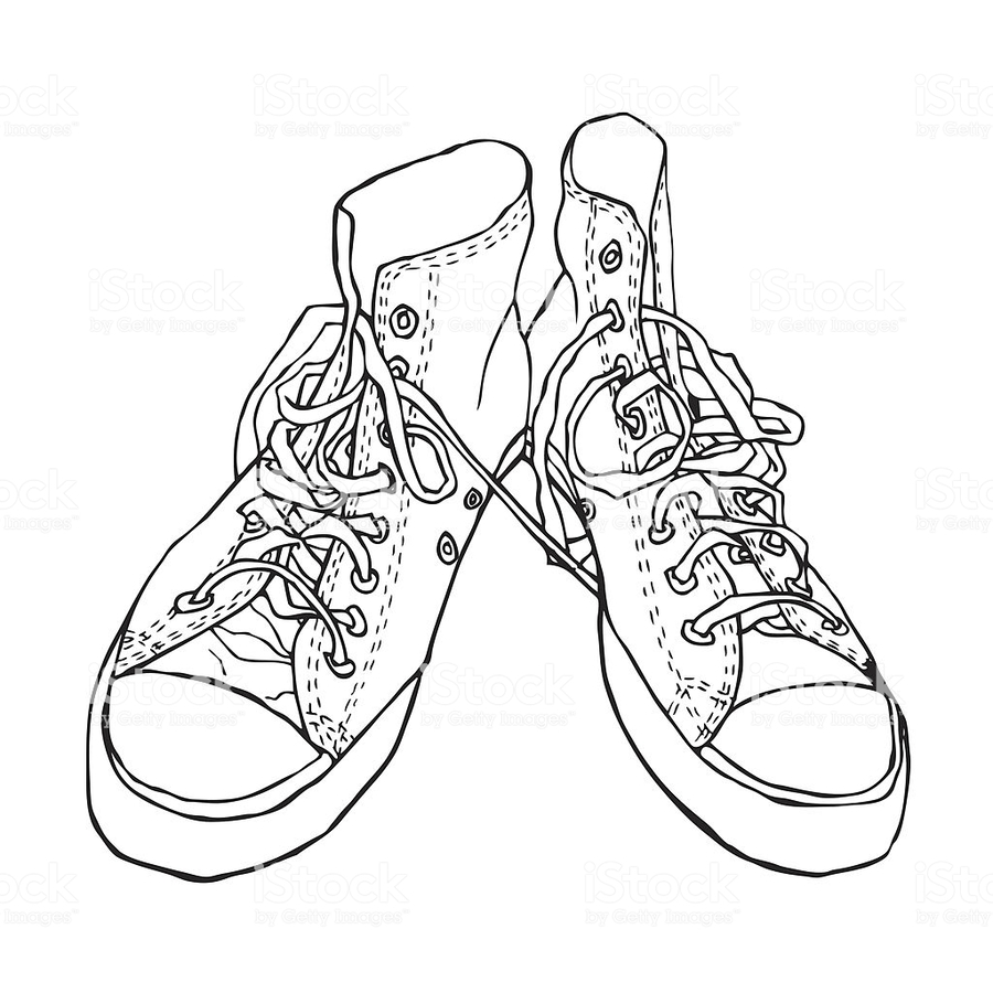 medium resolution of black and white sneakers clipart sports shoes