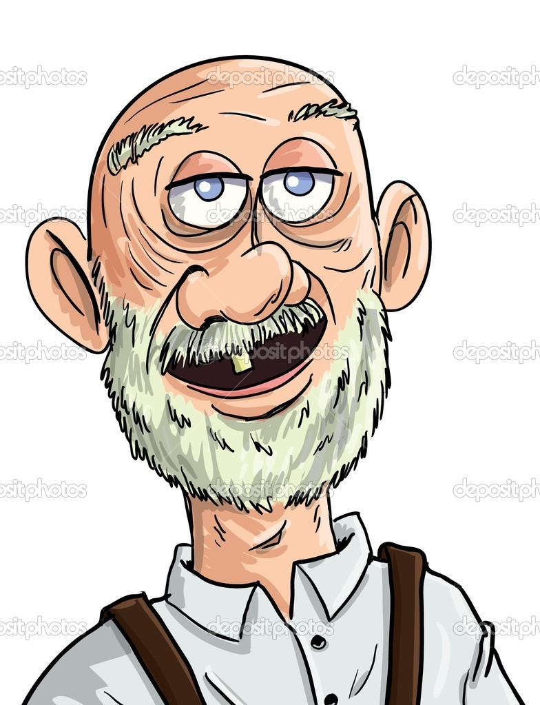hight resolution of cartoon crazy old man clipart royalty free clip art