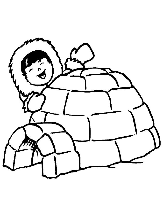 Igloo, Drawing, Head, Cartoon, Hand, Line, Product, Design