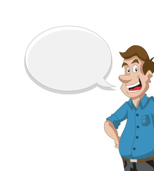 small resolution of cartoon man talking clipart cartoon