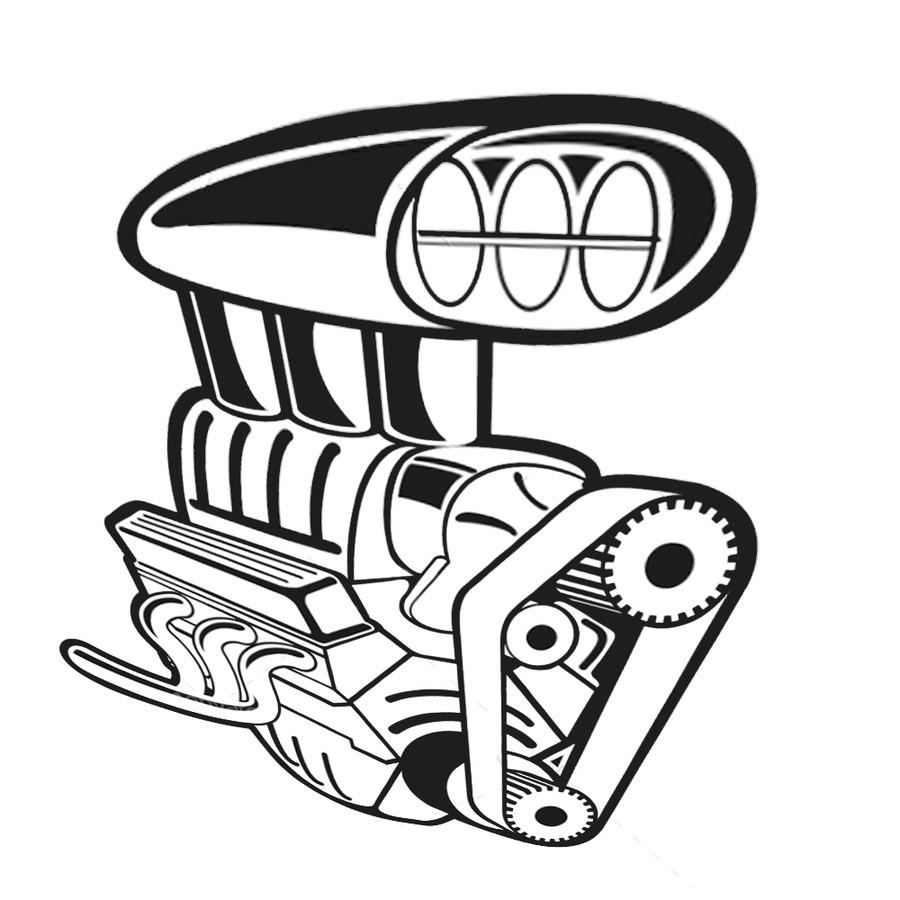 Download car engine clip art clipart Car Engine Clip art