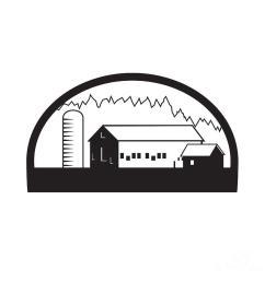 barn clipart silo barn clip art [ 900 x 900 Pixel ]