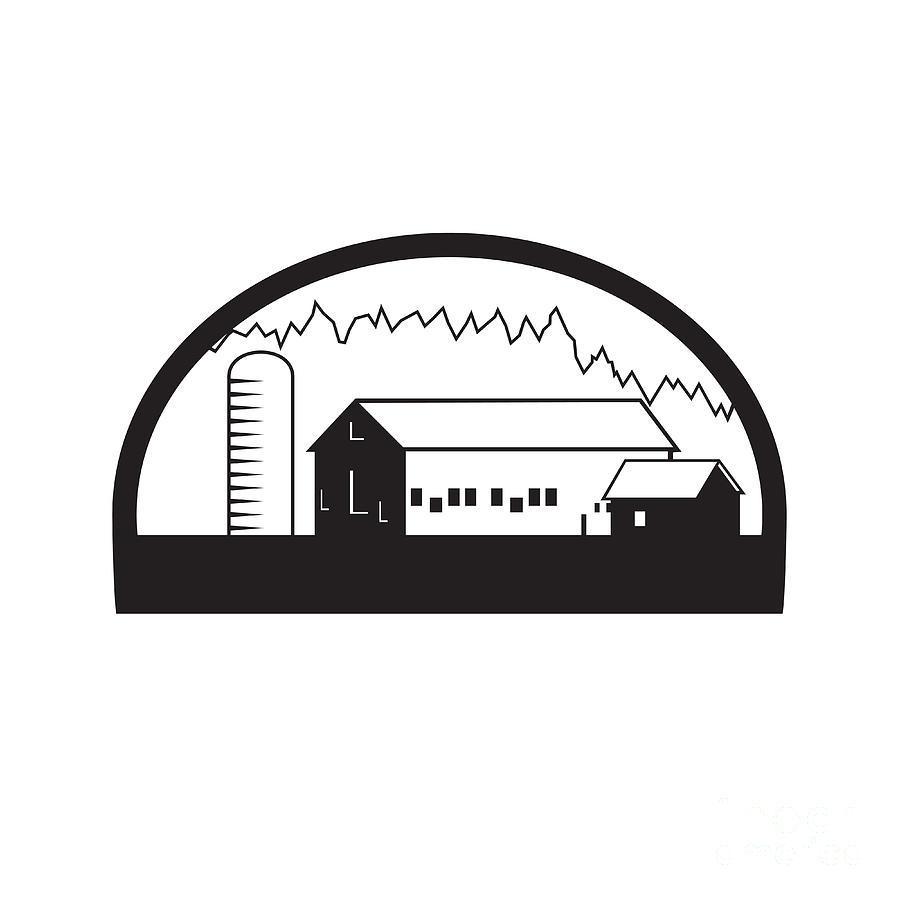 hight resolution of barn clipart silo barn clip art