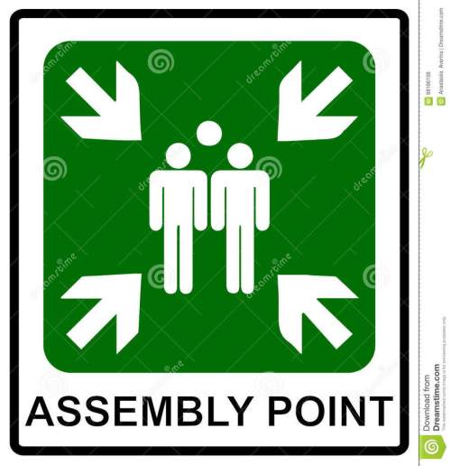 small resolution of assembly point sign clipart meeting point signage clip art