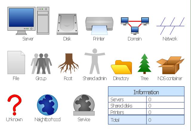 server icon clipart diagram