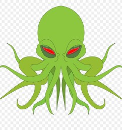cthulhu transparent background clipart octopus cthulhu clip art [ 900 x 900 Pixel ]