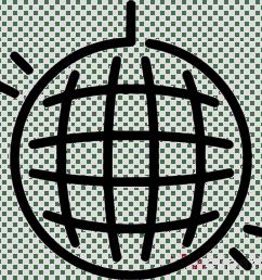 disco ball balck and white clipart disco balls [ 900 x 900 Pixel ]
