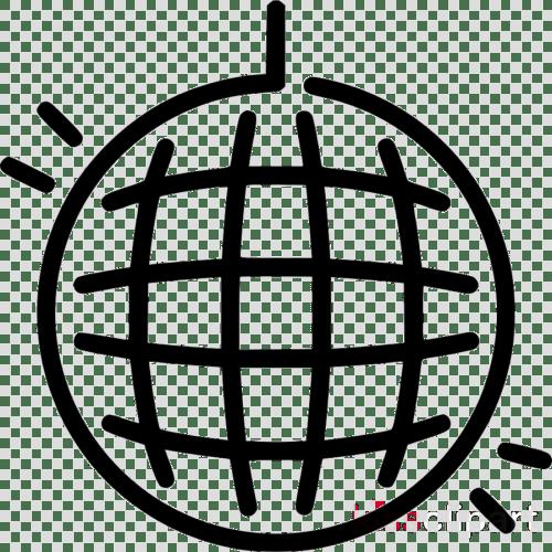 small resolution of disco ball balck and white clipart disco balls