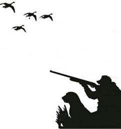 silhouette duck hunting clipart duck waterfowl hunting [ 900 x 900 Pixel ]