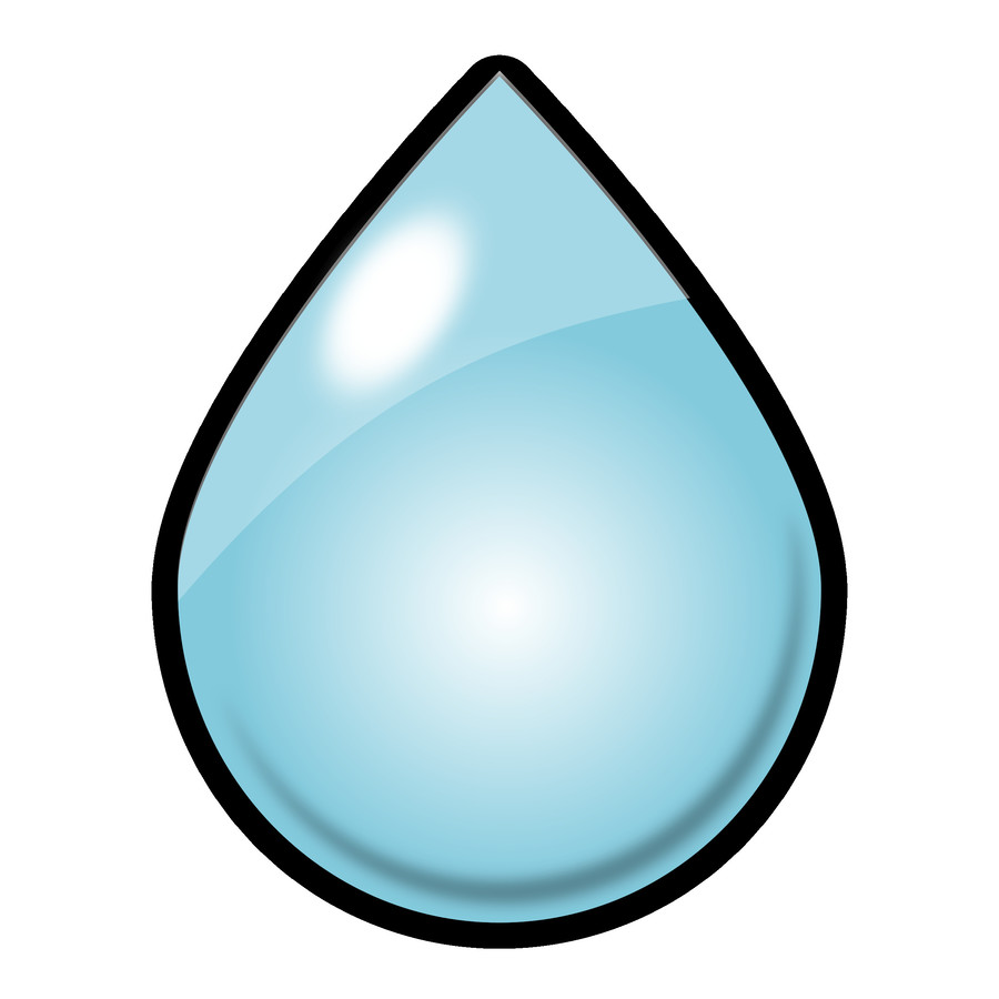 medium resolution of raindrop clipart