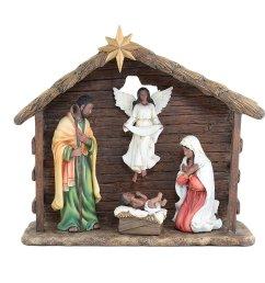 download nativity scene clipart african american nativity scene figurine [ 900 x 900 Pixel ]