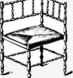 furniture clipart chair table furniture [ 900 x 1140 Pixel ]