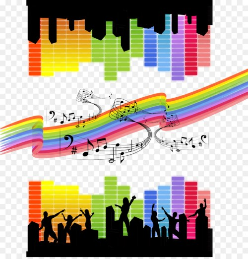small resolution of colorful musical theme throw blanket clipart musical theatre musical note
