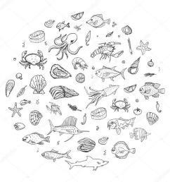 seafood clipart lobster plateau de fruits de mer seafood [ 900 x 900 Pixel ]