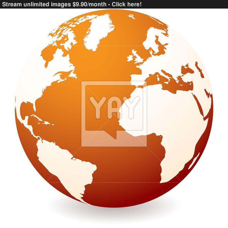 hight resolution of world globe clipart
