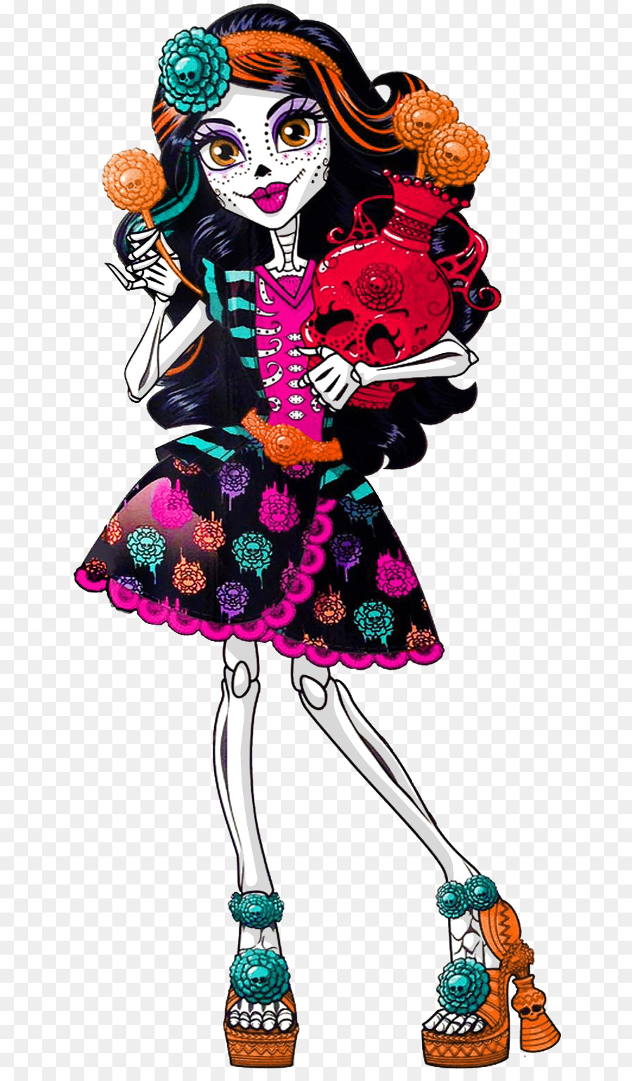 medium resolution of skelita calaveras art class clipart skelita calaveras art monster high