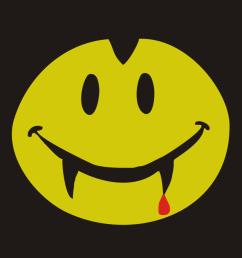 smiley clipart smiley dracula emoji [ 900 x 917 Pixel ]