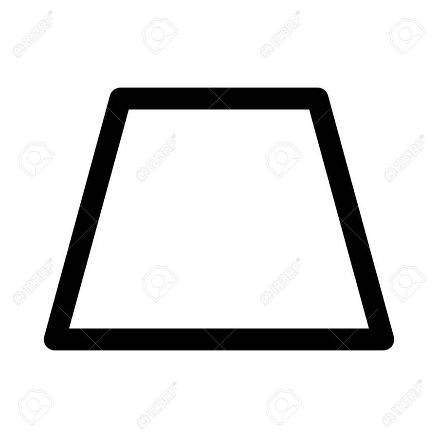 hight resolution of trapezoid shape clipart trapezoid shape clip art