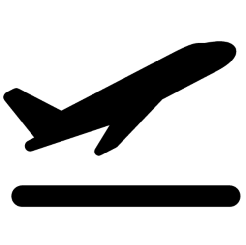 small resolution of plane take off icon clipart airplane aircraft clip art