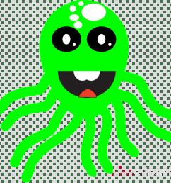 octopus clipart octopus squid clip art [ 900 x 900 Pixel ]