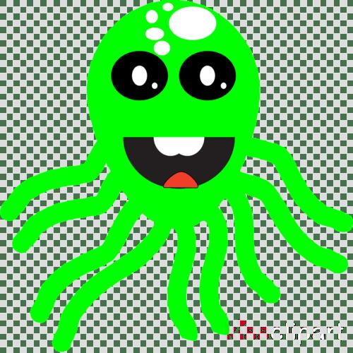 small resolution of octopus clipart octopus squid clip art