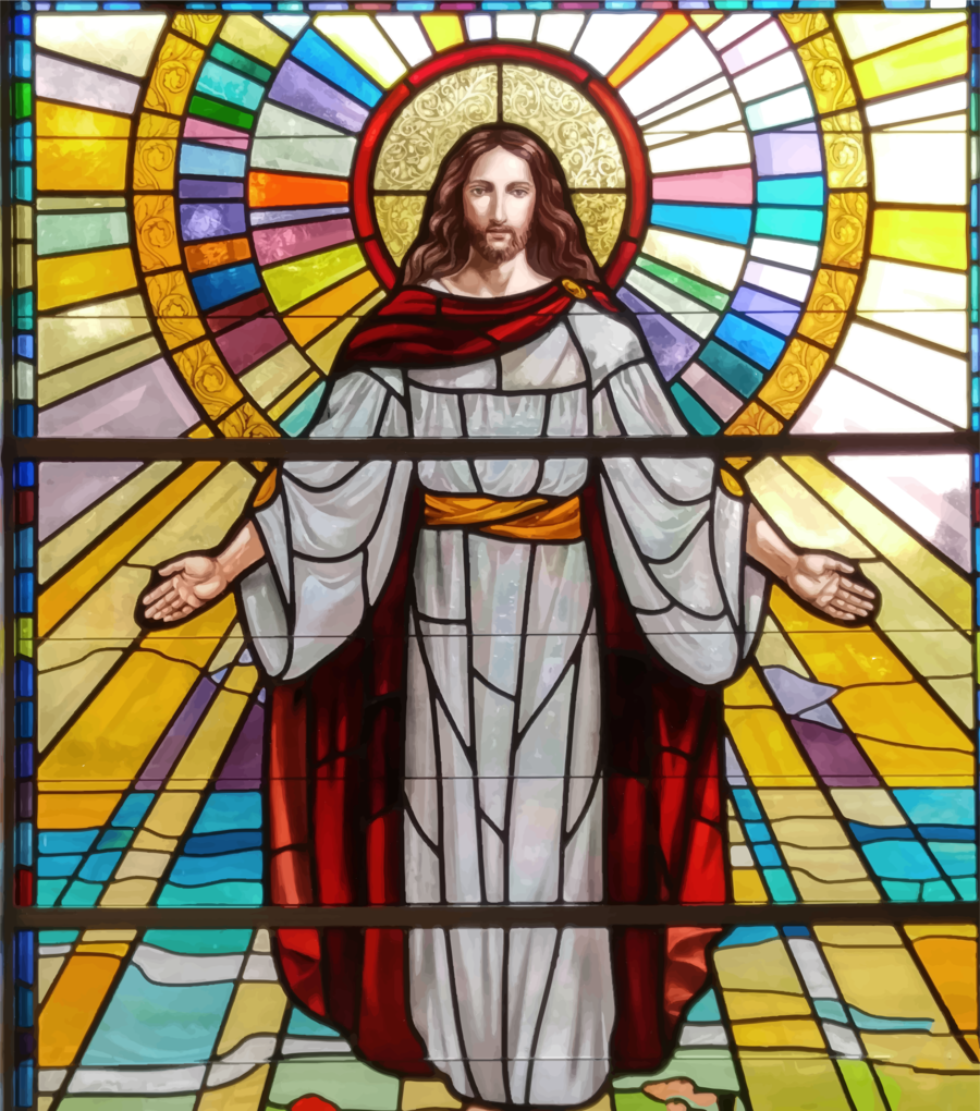 medium resolution of stained glass picture of jesus clipart window jesus stained glass