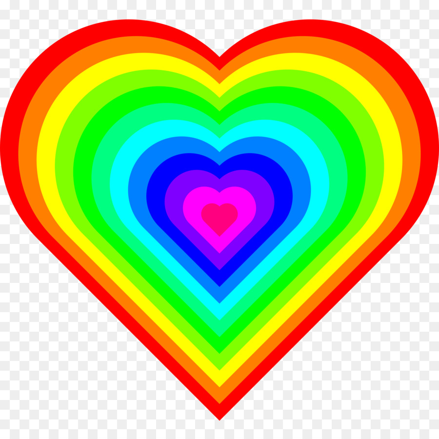 medium resolution of download rainbow heart gif clipart rainbow clip art