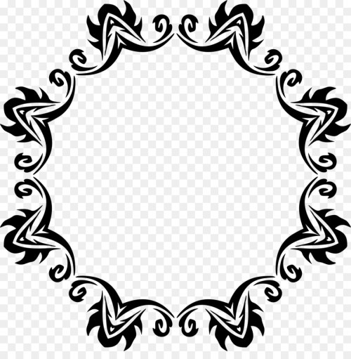 small resolution of transparent hexagon frame clipart borders and frames picture frames clip art