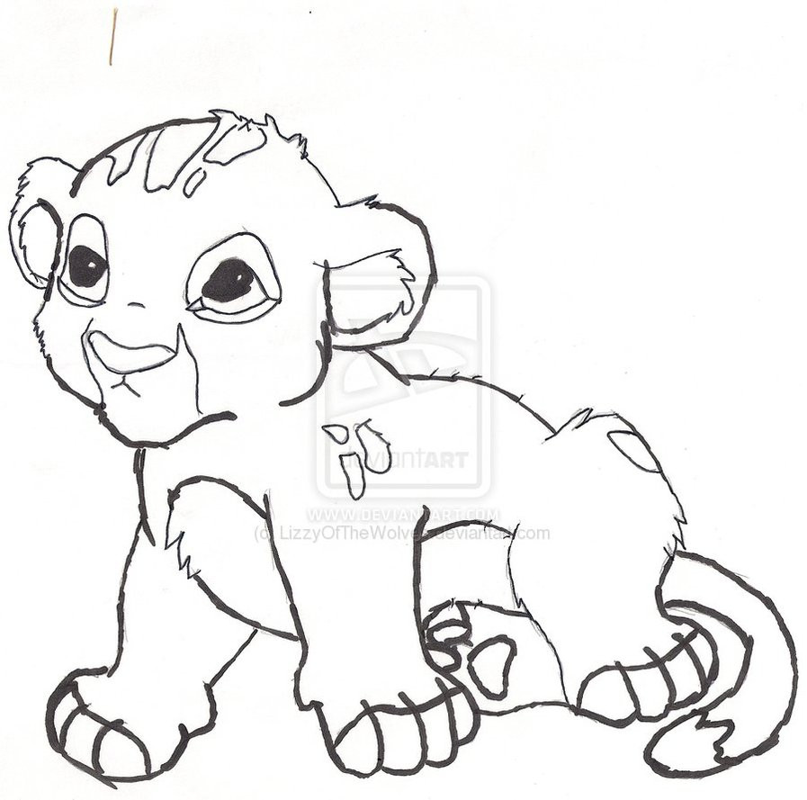 hight resolution of coloring baby lion clipart lion cute colouring baby colori