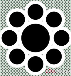 download ebbinghaus illusion moving clipart ebbinghaus illusion optical illusion black circle pattern [ 900 x 900 Pixel ]
