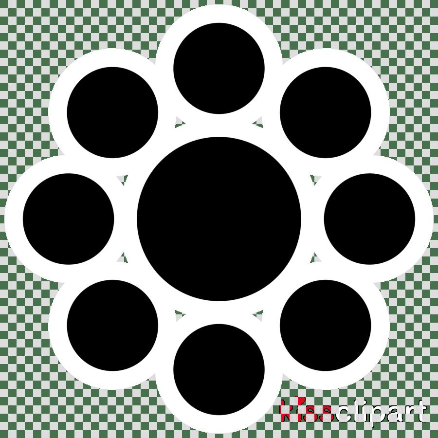 hight resolution of download ebbinghaus illusion moving clipart ebbinghaus illusion optical illusion black circle pattern