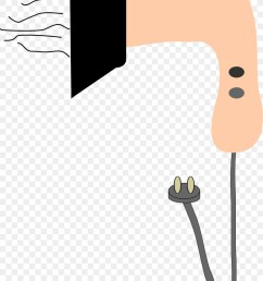 hair dryer clipart comb hair dryers [ 900 x 1400 Pixel ]