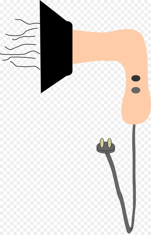 small resolution of hair dryer clipart comb hair dryers