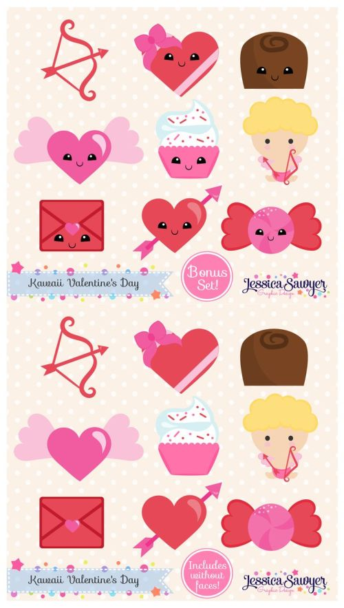 small resolution of free download free valentine s day planner stickers clipart valentine s day clip art it comes with full background with resolution of 736 1300