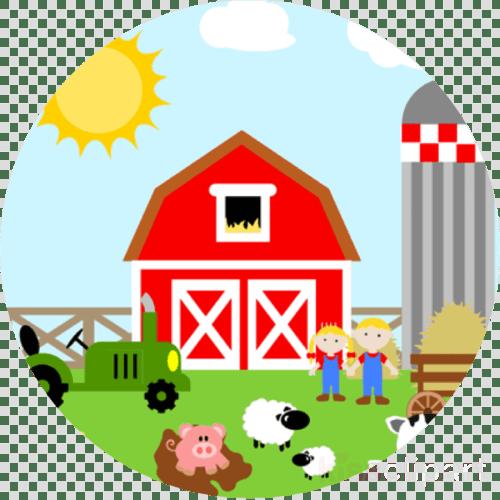 small resolution of farm gate to dinner plate clipart farm barn clip art