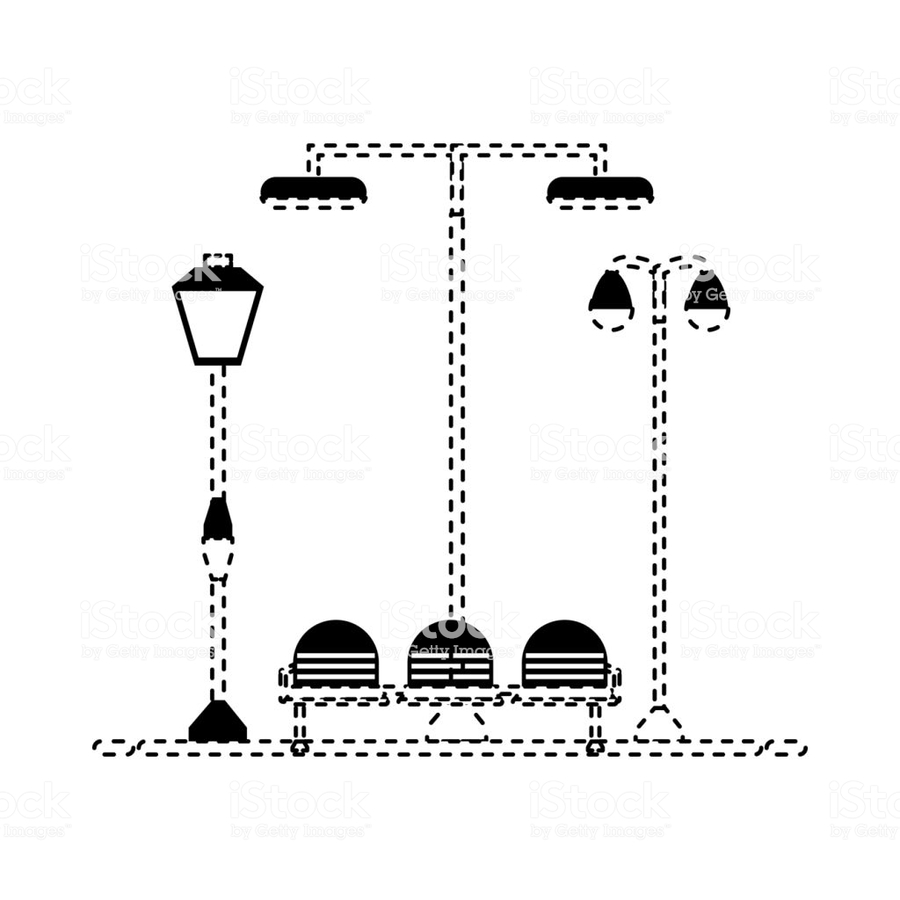 hight resolution of street clipart street light fotolia