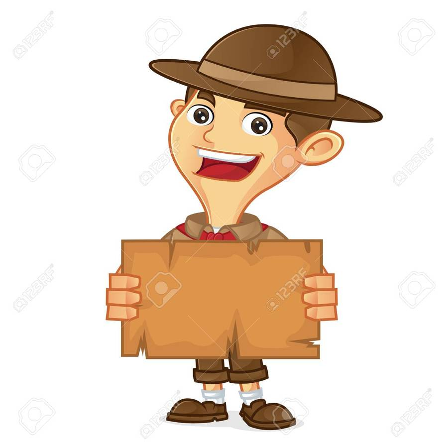 hight resolution of boy scout cartoon clipart royalty free clip art