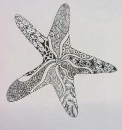 starfish clipart starfish m 02csf drawing [ 900 x 1200 Pixel ]