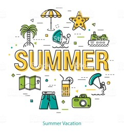 download let s go vacation clipart summer vacation travel text yellow [ 900 x 900 Pixel ]