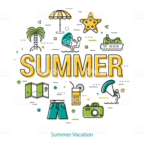 small resolution of download let s go vacation clipart summer vacation travel text yellow