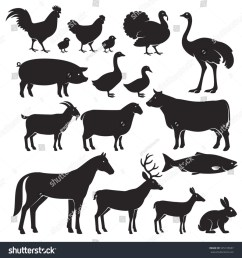 animal silhouette clipart [ 900 x 960 Pixel ]