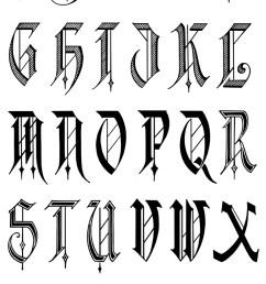 gangster letters clipart letter alphabet graffiti [ 700 x 1129 Pixel ]