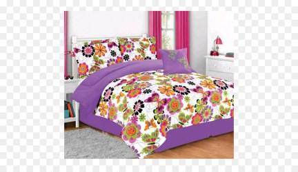 Bed Cartoon clipart Bed Pillow Pink transparent clip art